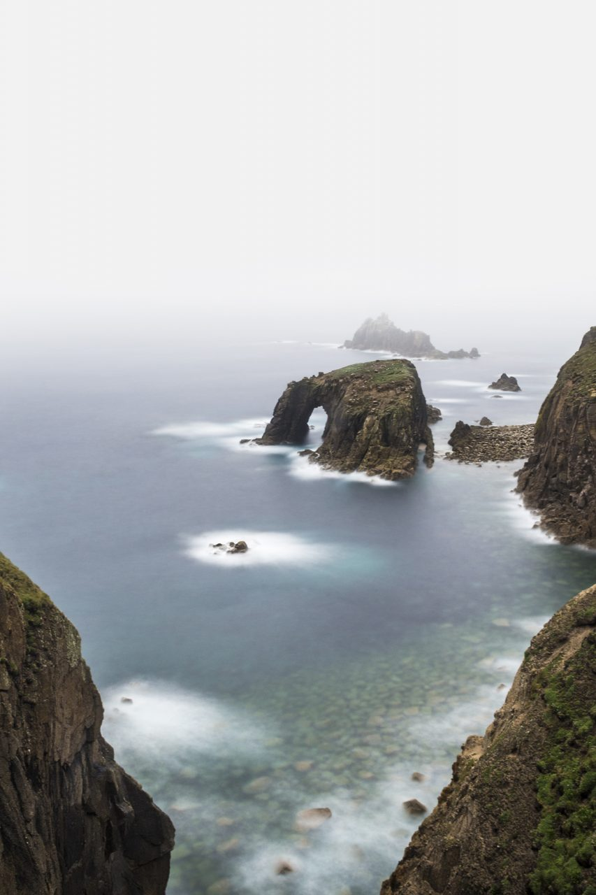 Lands End Mist Cornwall